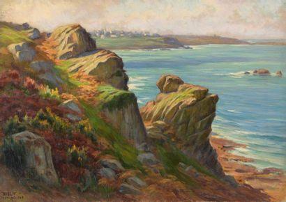 Charles WISLIN (1852-1932)  La Clarté vue...