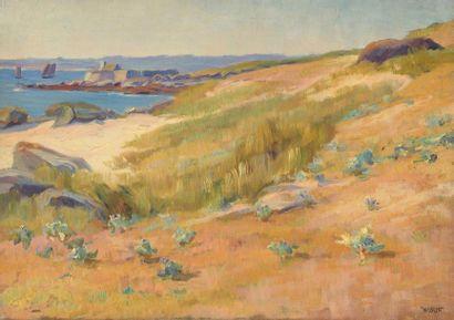 Charles WISLIN (1852-1932)  Fort du Cabellou,...