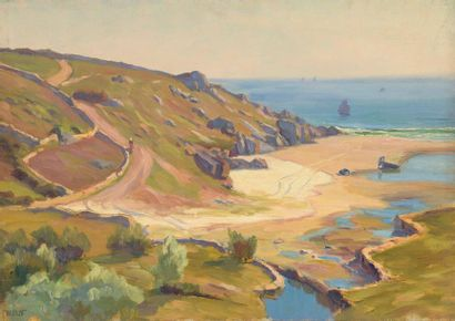 Charles WISLIN (1852-1932)  Promenade sur...