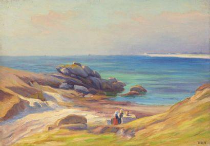 Charles WISLIN (1852-1932)  Conversation...