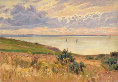 Charles WISLIN (1852-1932)  Voiliers au soleil...