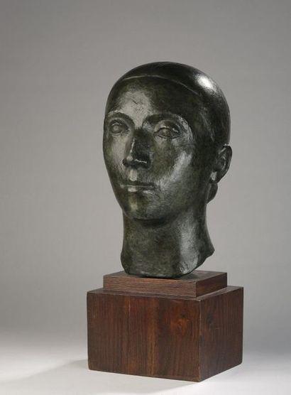 Marcel GIMOND (1894-1961)  Paysanne de l'Ardèche,...