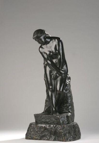 Alfred-Jean HALOU (1875-1939)  Ève au pommier,...