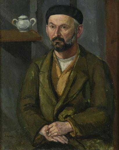 École FRANÇAISE  Portrait de Charles Despiau,...