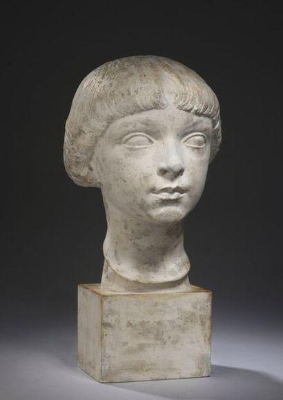 Charles DESPIAU (1874-1946)  Buste de Jacques...