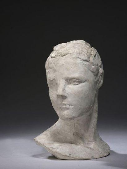 Charles DESPIAU (1874-1946)  Petite tête...