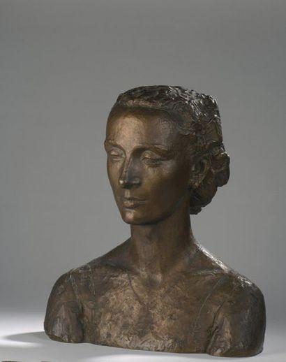 Charles DESPIAU (1874-1946)  Mme Jannink,...