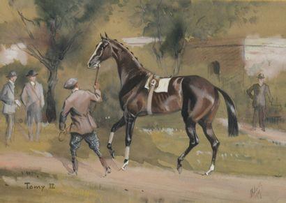Baron Karl REILLE (1886-1974)  Tomy II au...