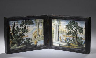 ITALIE, CASTELLI, XVIIIe siècle   Bottega...