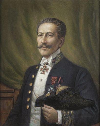 Pierre Christian GANNE (1902-1984)  Portrait...