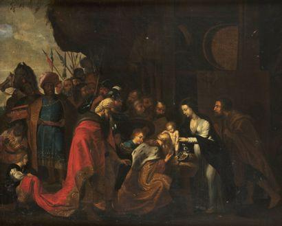 École FLAMANDE du XVIIe siècle, suiveur de...