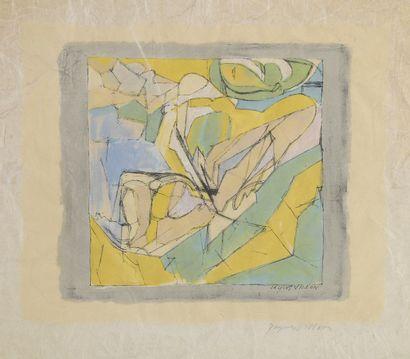 Jacques VILLON (1875 – 1963) d'après  Sans...