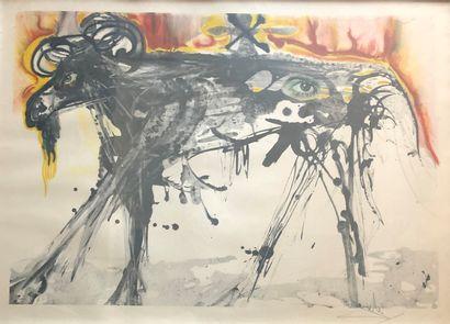 Salvador DALI (1904-1989)  Le Bélier, 1971...