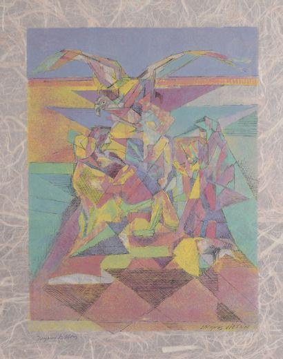 Jacques VILLON (1875 – 1963) d'après  L'aigle...