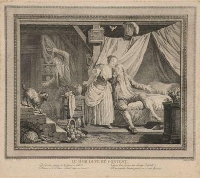 Jean-Baptiste Patas d'après Le Barbier  Le...
