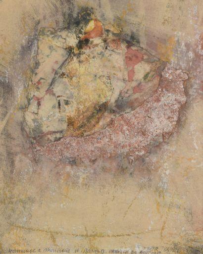 Franz BEER (né en 1929)  Sans titre, 1959...
