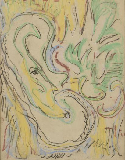 Jeanne KOSNICK-KLOSS (1892-1966)  Sans titre...
