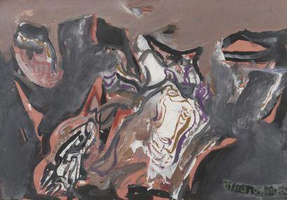 Milorad Bata MIHAILOVITCH (1923-2011)  Rive...