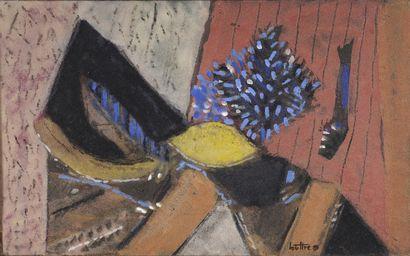 LOUTTRE-BISSIÈRE (1926-2012)  Citron de velours,...