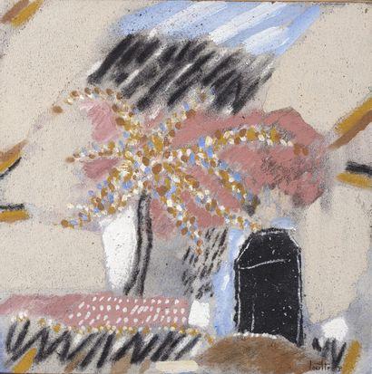 LOUTTRE-BISSIÈRE (1926-2012)  L'abri-cotier,...