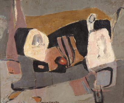 Maria MANTON (1910-2003)  La citadelle, 1991...