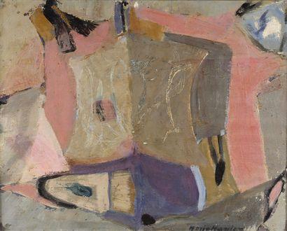 Maria MANTON (1910-2003)  Armoiries, 1990...
