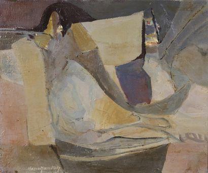 Maria MANTON (1910-2003)  Le martin-pêcheur,...