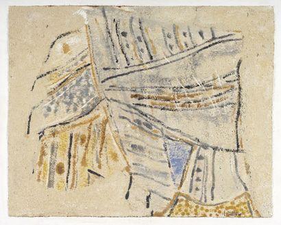 LOUTTRE-BISSIÈRE (1926-2012)  Salut l'étranger...