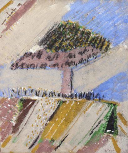LOUTTRE-BISSIÈRE (1926-2012)  Bonzaï, 1981...