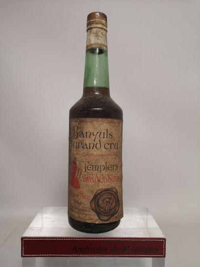 1 bouteille BANYULS MAS de la SERRA - Grand...