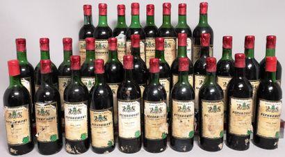 30 bouteilles PECHARMANT - Dom. De La BRIASSE...