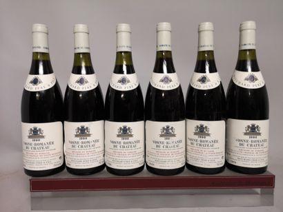 6 bouteilles VOSNE ROMANEE - BOUCHARD PF...