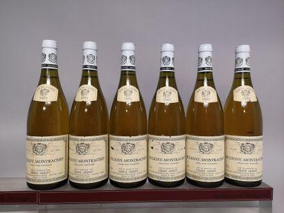 6 bouteilles PULIGNY MONTRACHET - L. JADOT...