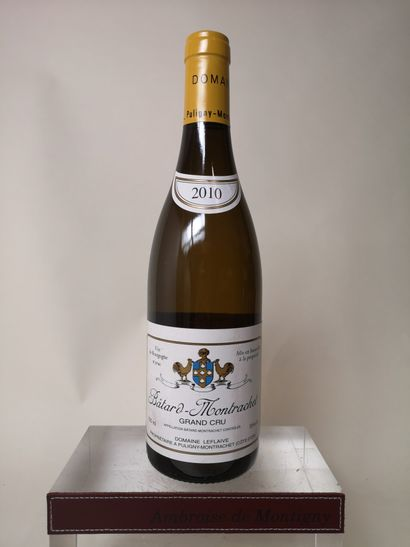 1 bouteille BÂTARD MONTRACHET Grand cru -...