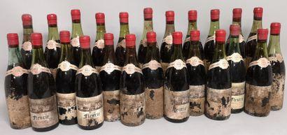 24 bouteilles FLEURY 1964 - Noel Briday  A...