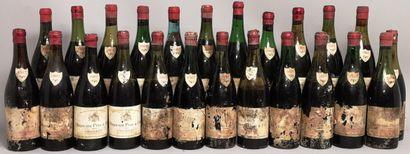 24 bouteilles VOUGEOT - HUGUENIN PF 1962...