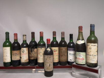 24 bouteilles VINS DIVERS France  A VENDRE...