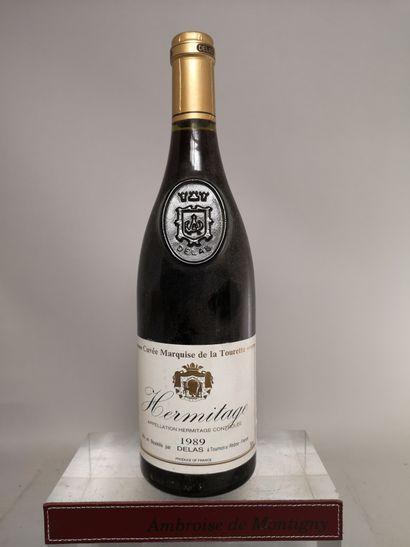 1 bouteille HERMITAGE La Tourette - DELAS...