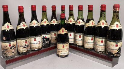12 bouteilles CHÂTEAUNEUF du PAPE