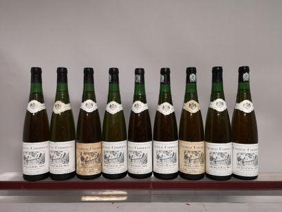 9 bouteilles BERGERAC Sec - Château COMBRILLAC...