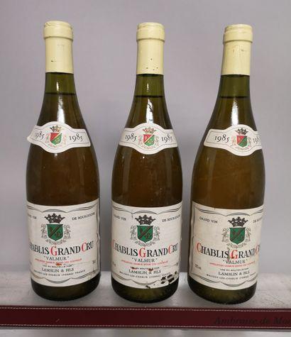 3 bouteilles CHABLIS Grand Cru