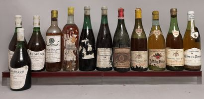 12 bouteilles VINS DIVERS France BOURGOGNE,...
