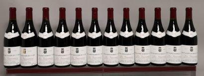 12 bouteilles NUITS St. GEORGES 1er Cru