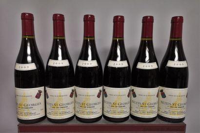 6 bouteilles NUITS-SAINT-GEORGES