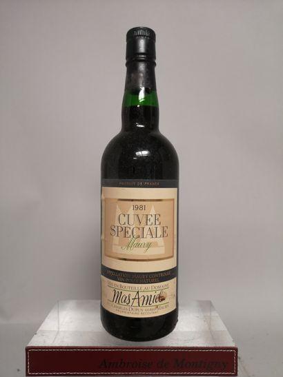 1 bouteille MAURY MAS AMIEL Cuvée spéciale...