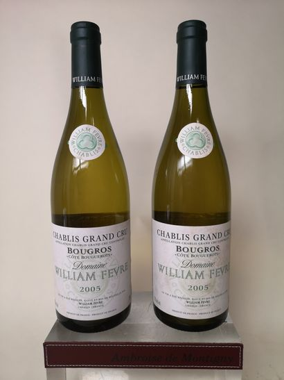 2 bouteilles CHABLIS Grand cru BOUGROS