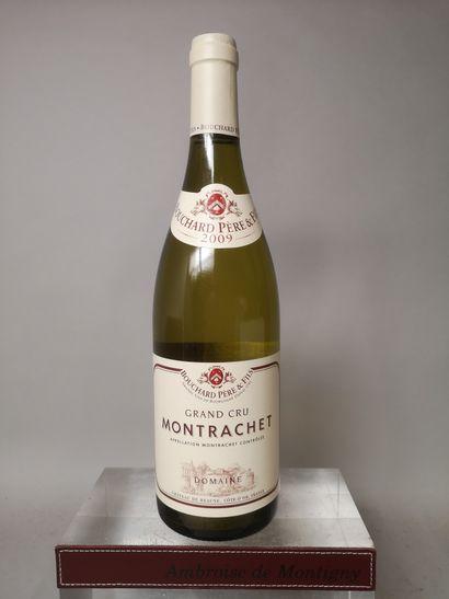 1 bouteille MONTRACHET Grand cru - BOUCHARD...