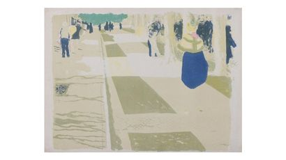 Édouard VUILLARD (1868-1940)  L'Avenue, planche...