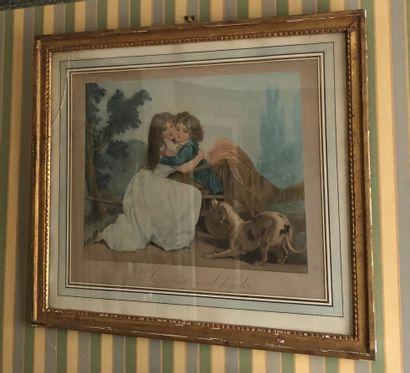 D'après Louis-Léopold BOILLY par ALLAIS  La...