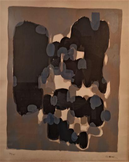 Raoul UBAC (1910-1985)  Sans titre  Lithographie...